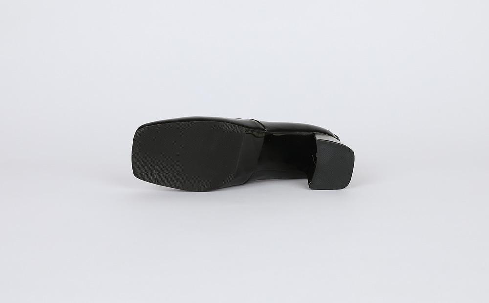 Our loafer heel pumps