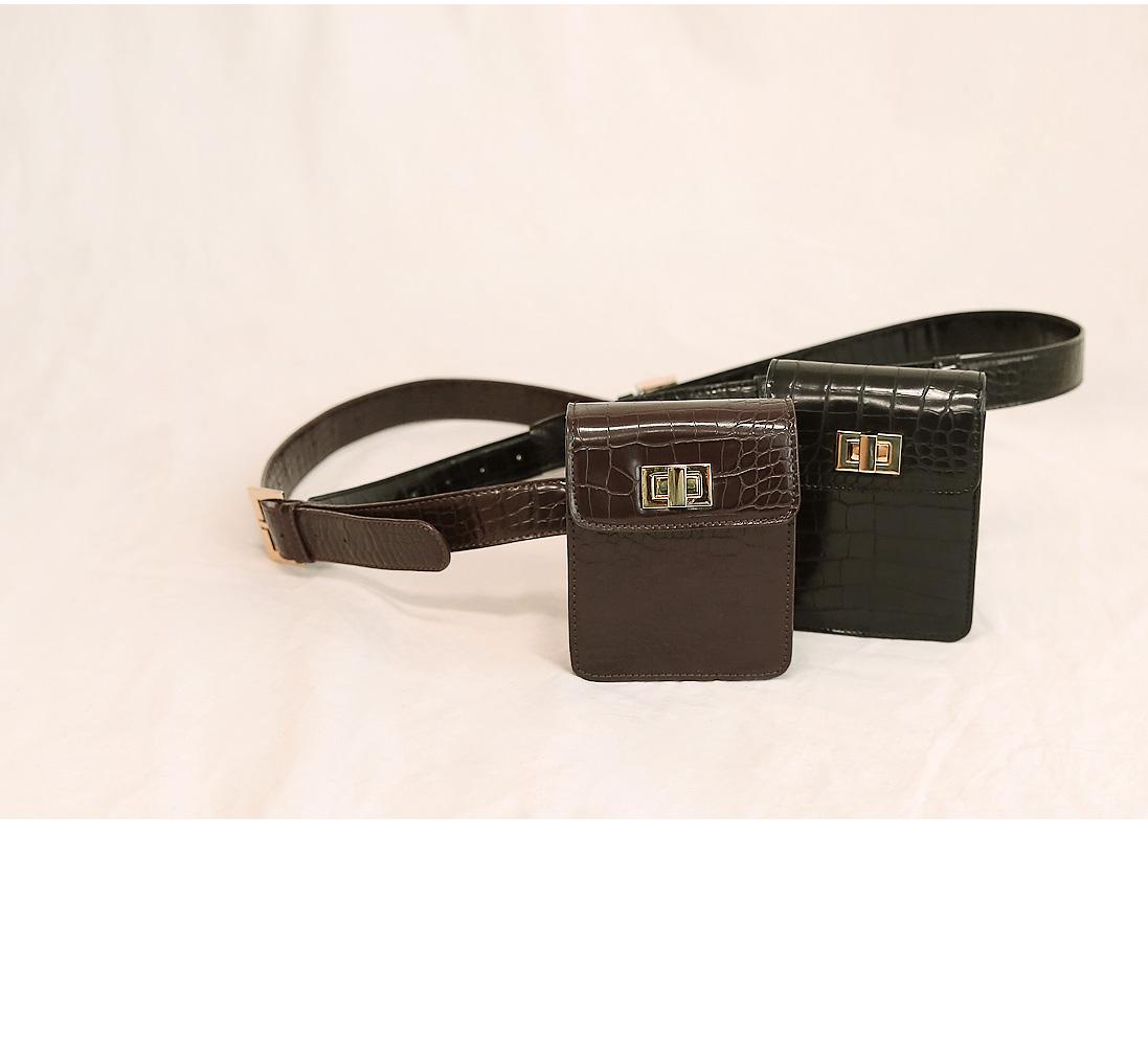 Pleather Belt Bag