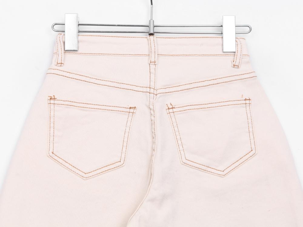 Slim Split Cotton P