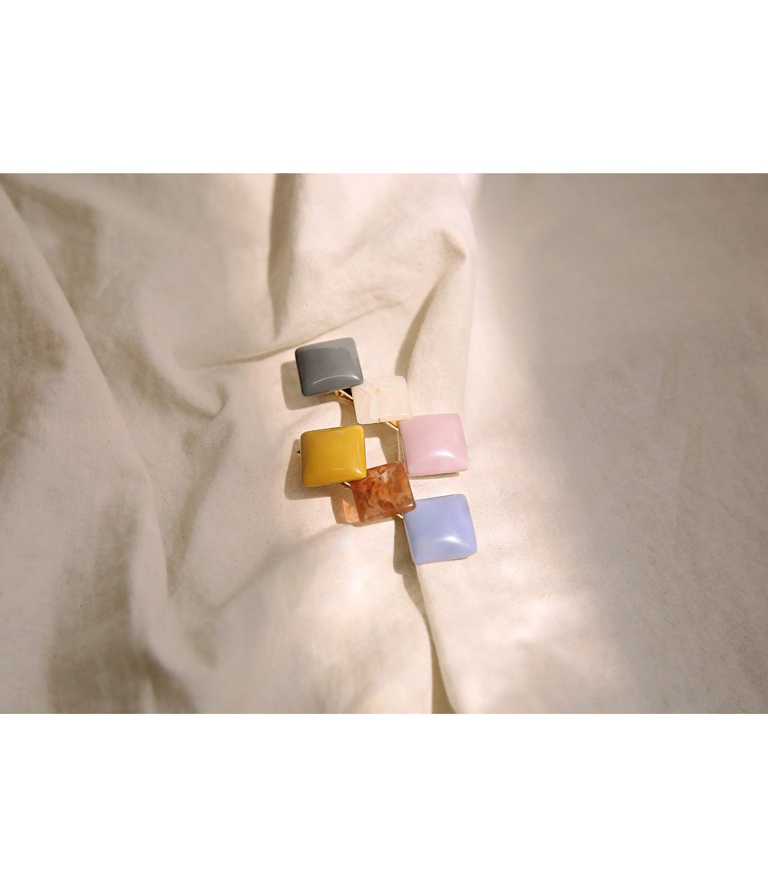 AMBER DIAMOND HAIR PIN