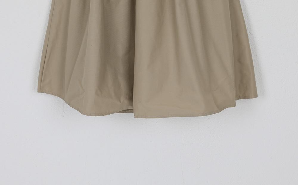 crispy belt banding skirt
