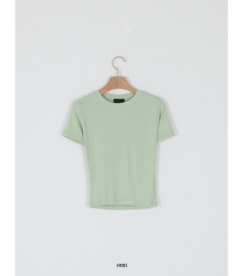 Weather Slim Round Neck T-Shirt