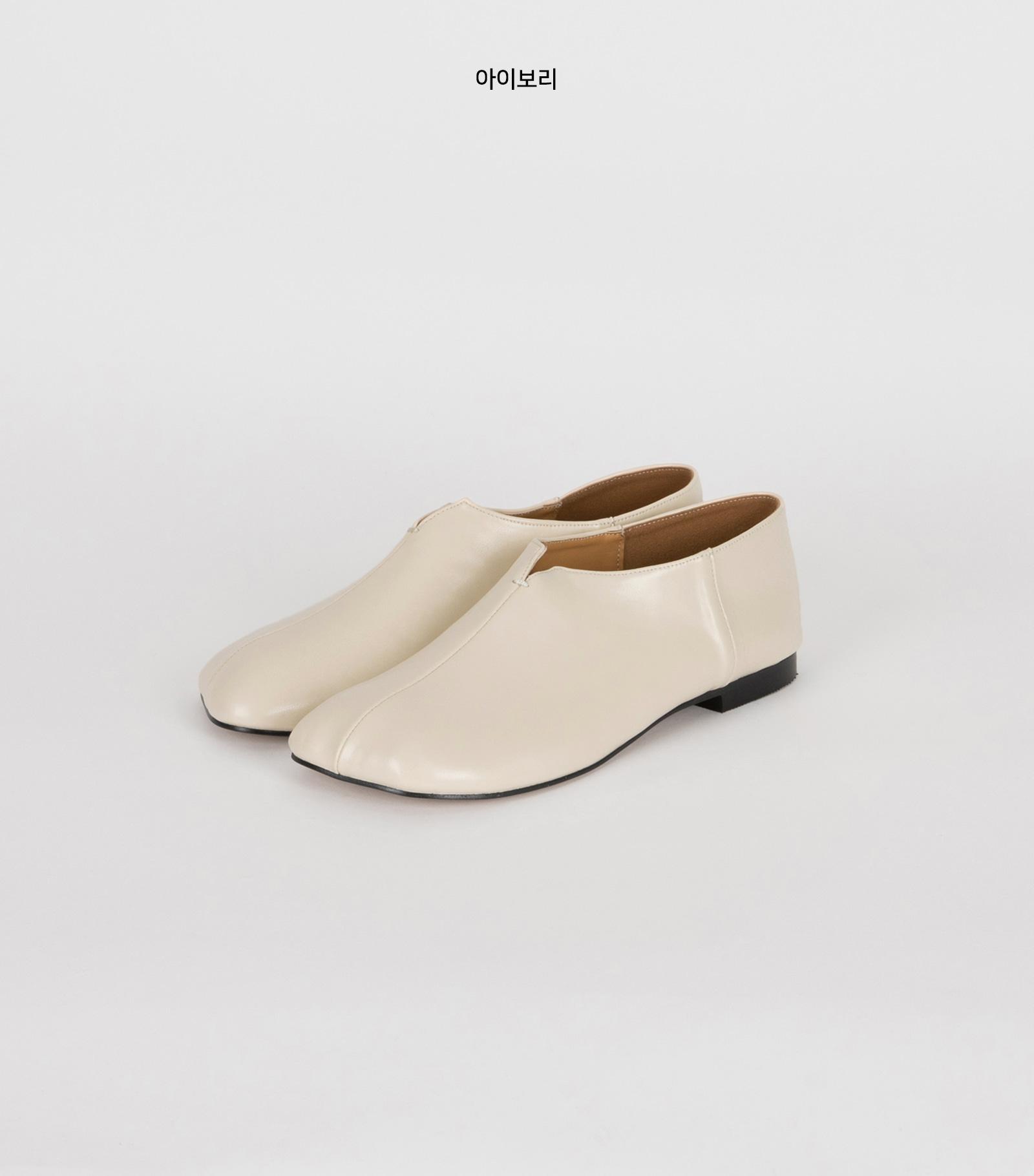 Bread mood flat shoes