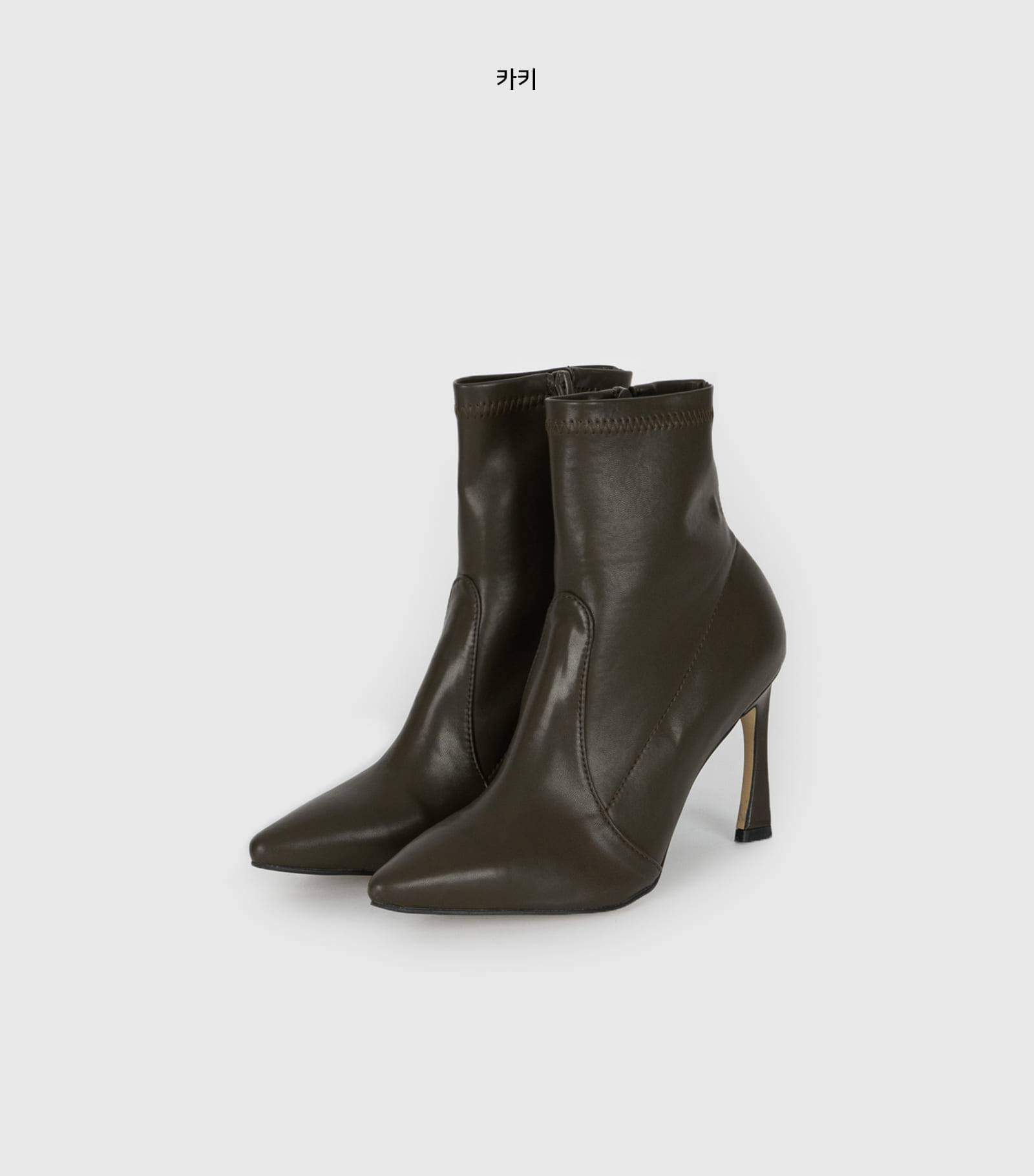 Storm Stiletto high heel ankle boots