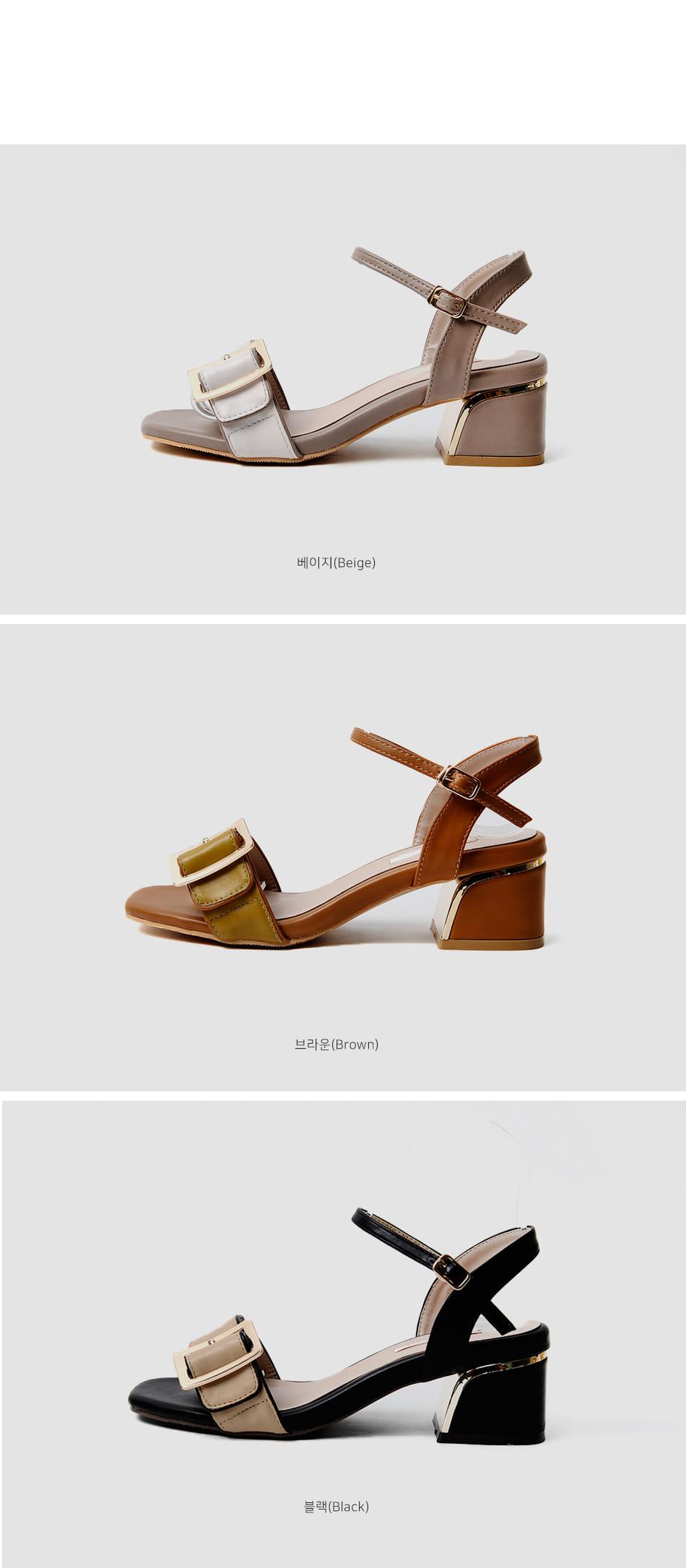 Levin's strap sandals 5cm