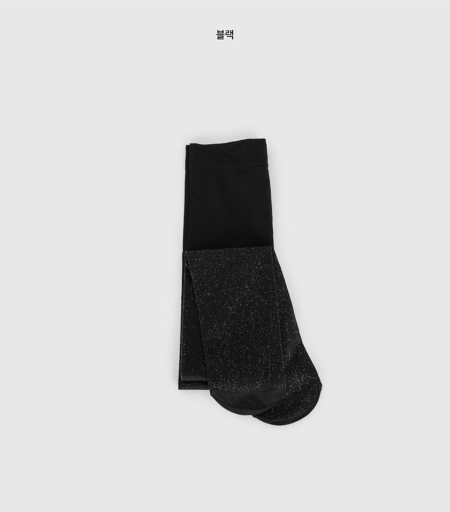 Metal shine stockings