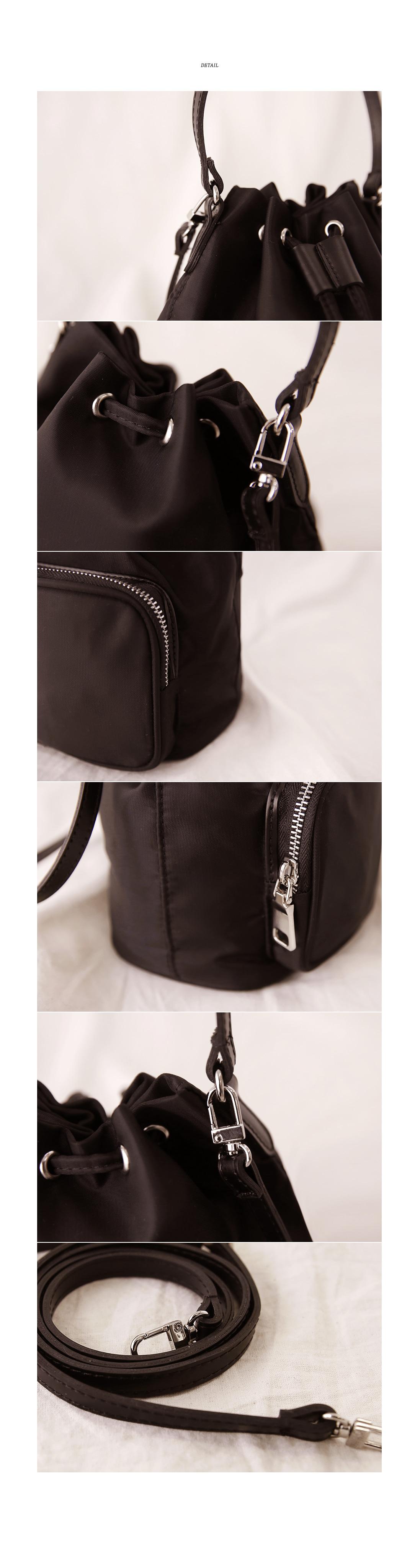 MINIMAL STRING BUCKET BAG