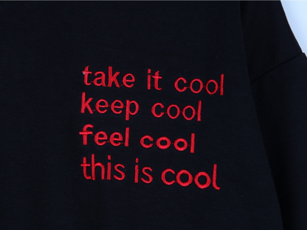 Disise Cool Embroidery MTM