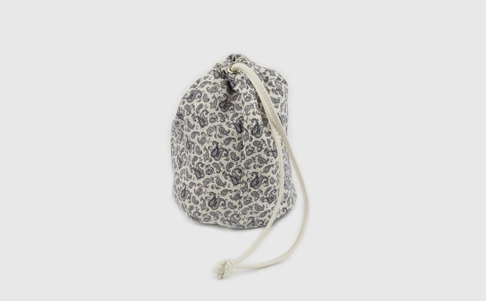 Paisley mini pouch bag