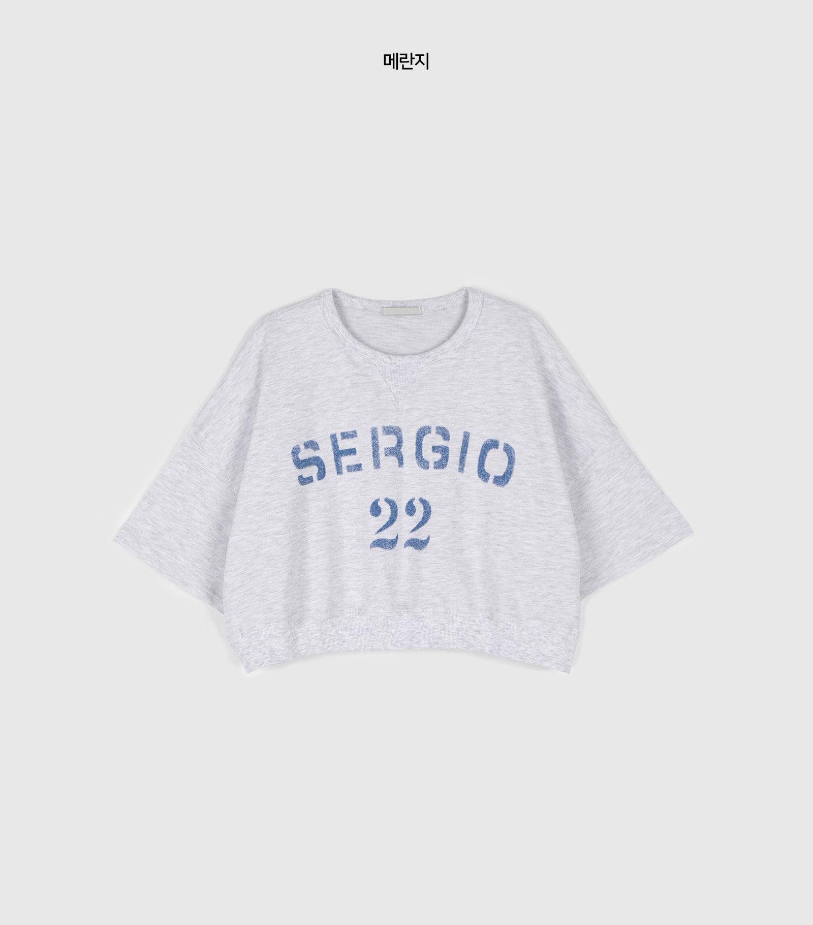 Ten-ten over half-man to man sweatshirt