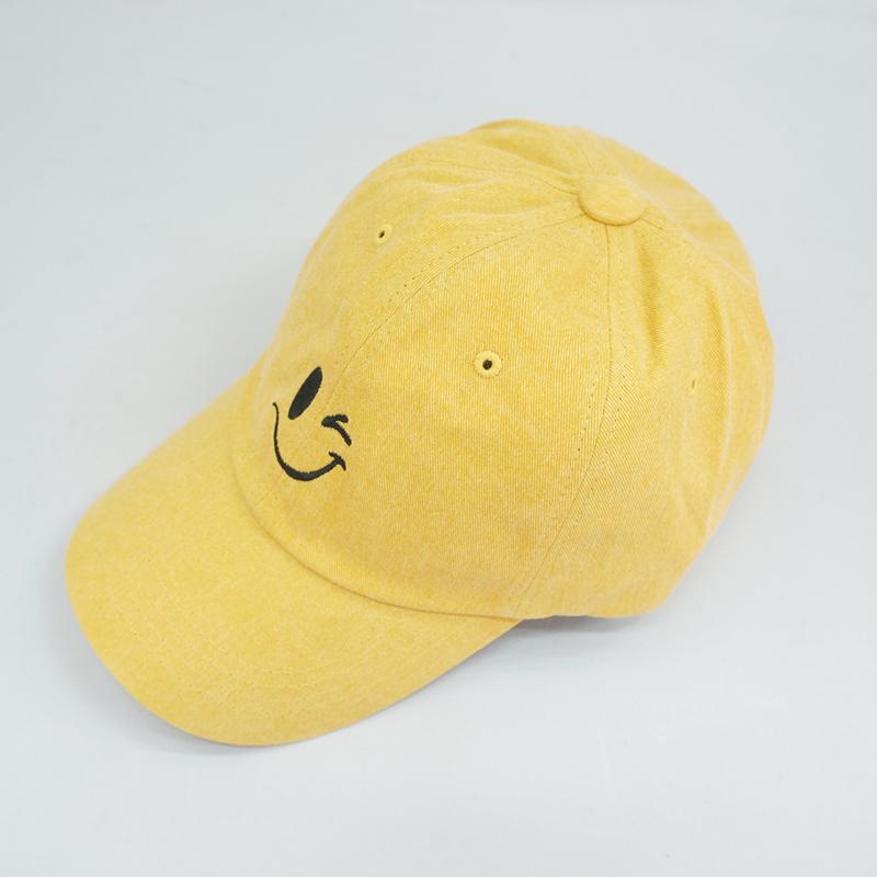 Wink Smile Ball Cap