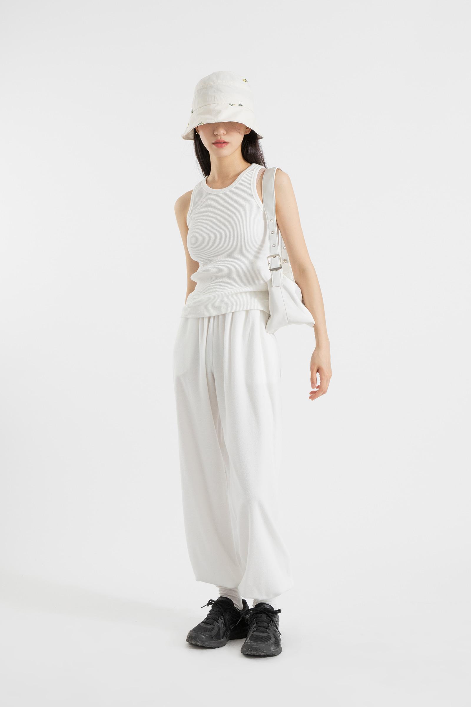 Summer towel cotton jogger pants