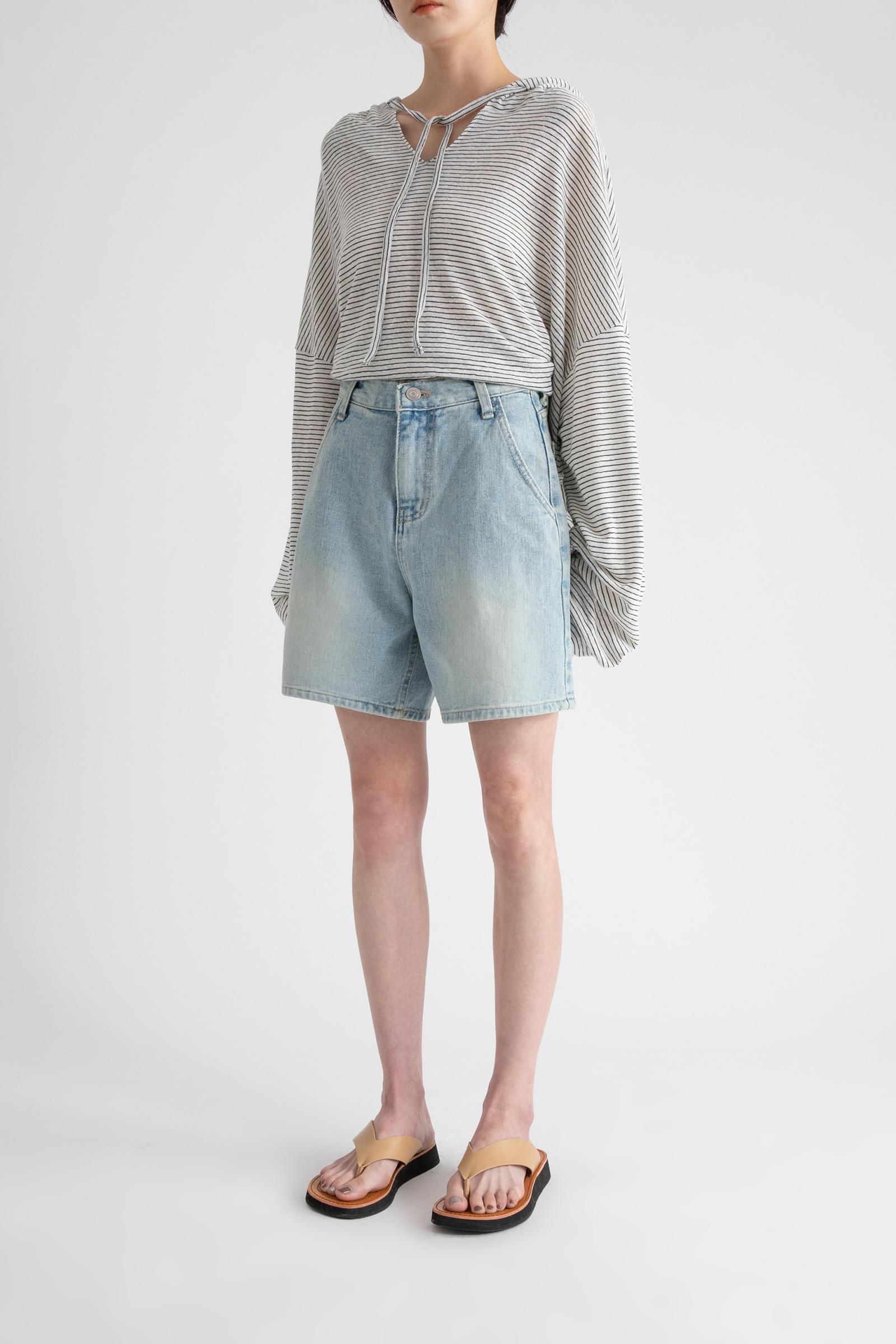 Rain Wash Half Jean