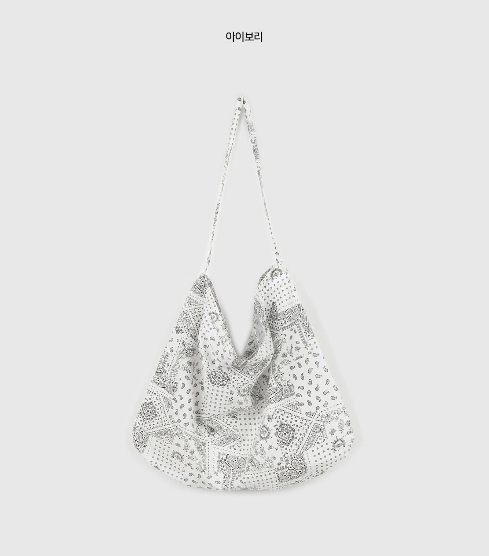 Paisley cotton shoulder bag