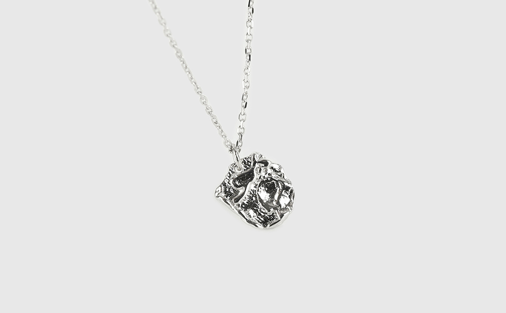 Scary pendant necklace