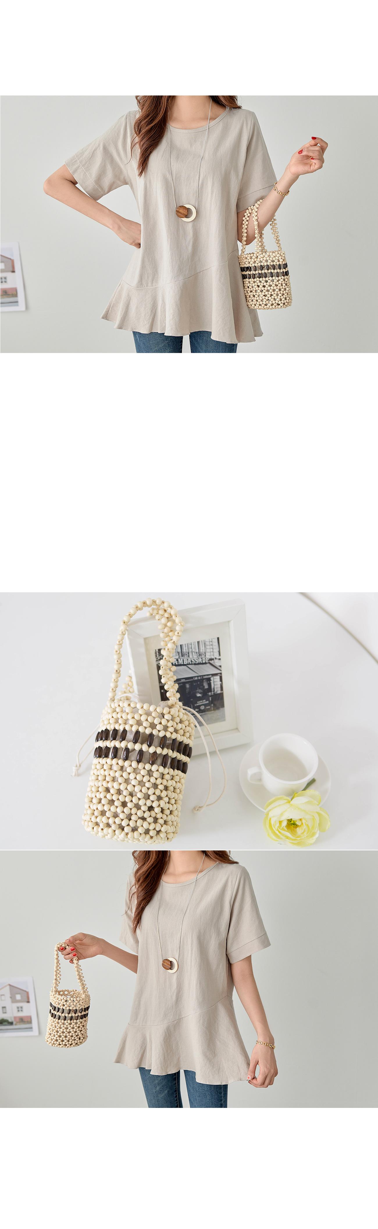 Woodring pouch bucket bag #85380