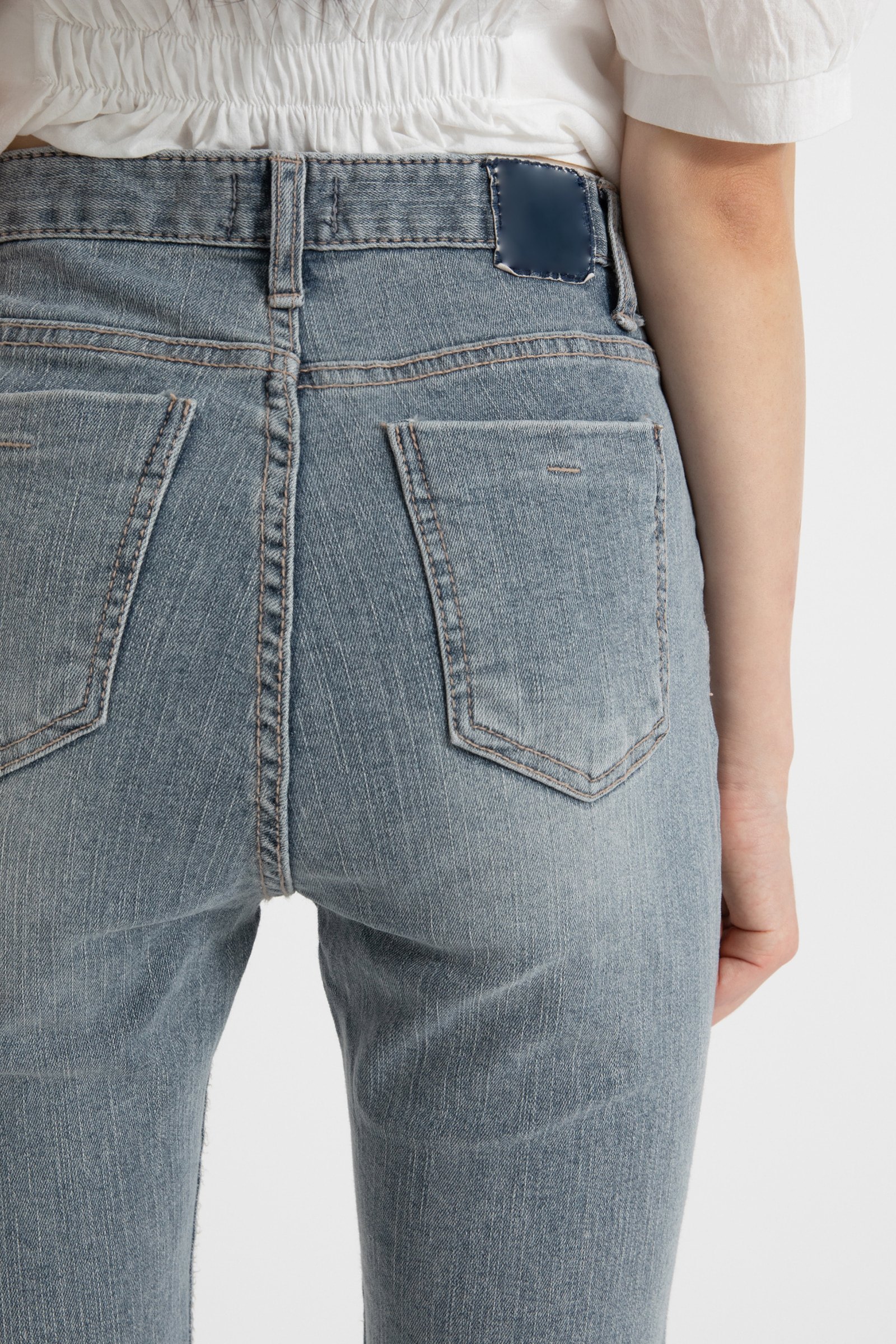 Harry high-rise bootcut jeans