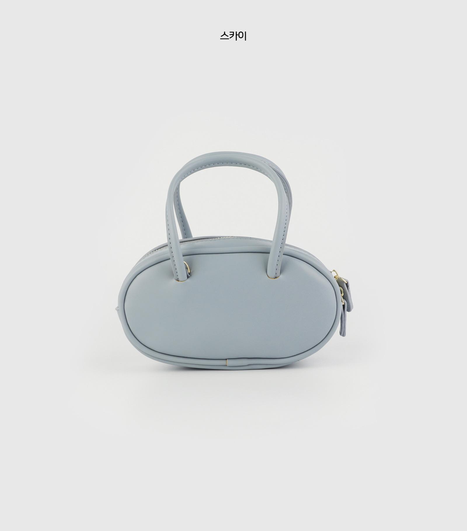 Oval multi-cross tote bag