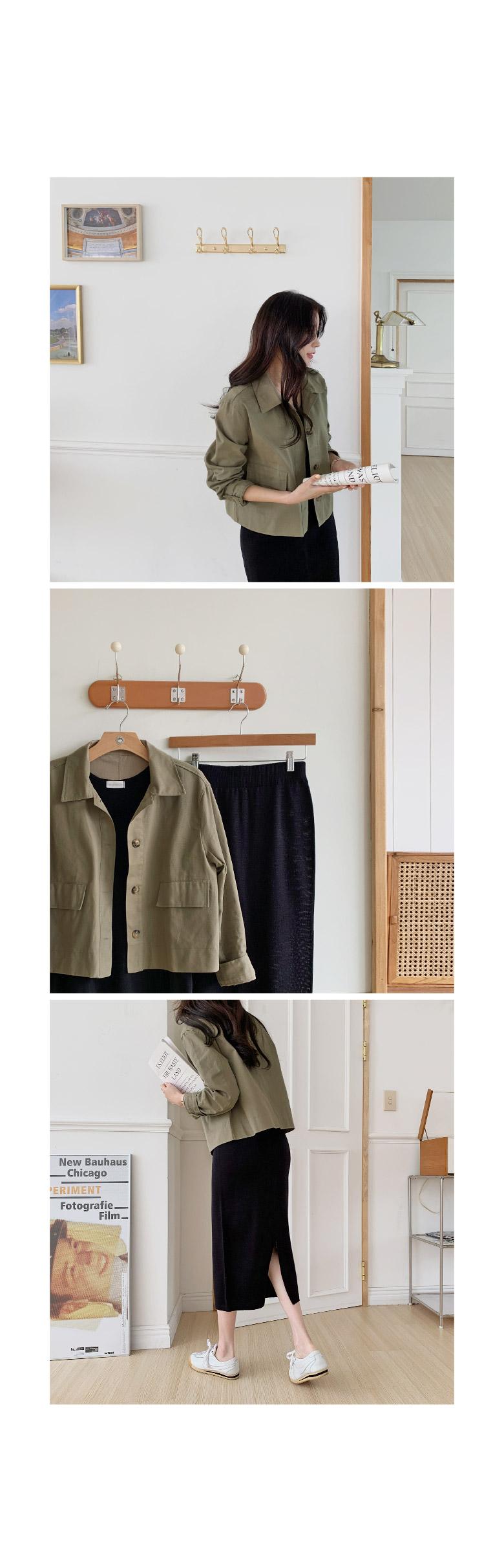 Wecan Basic Cotton Night Jacket