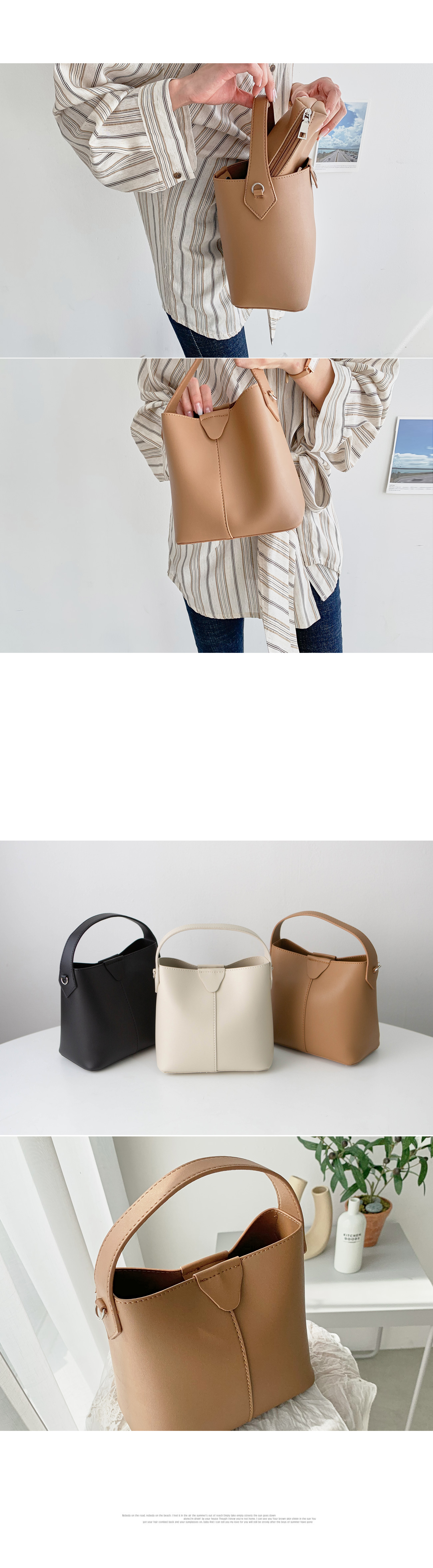 Rope string tote bag #85430