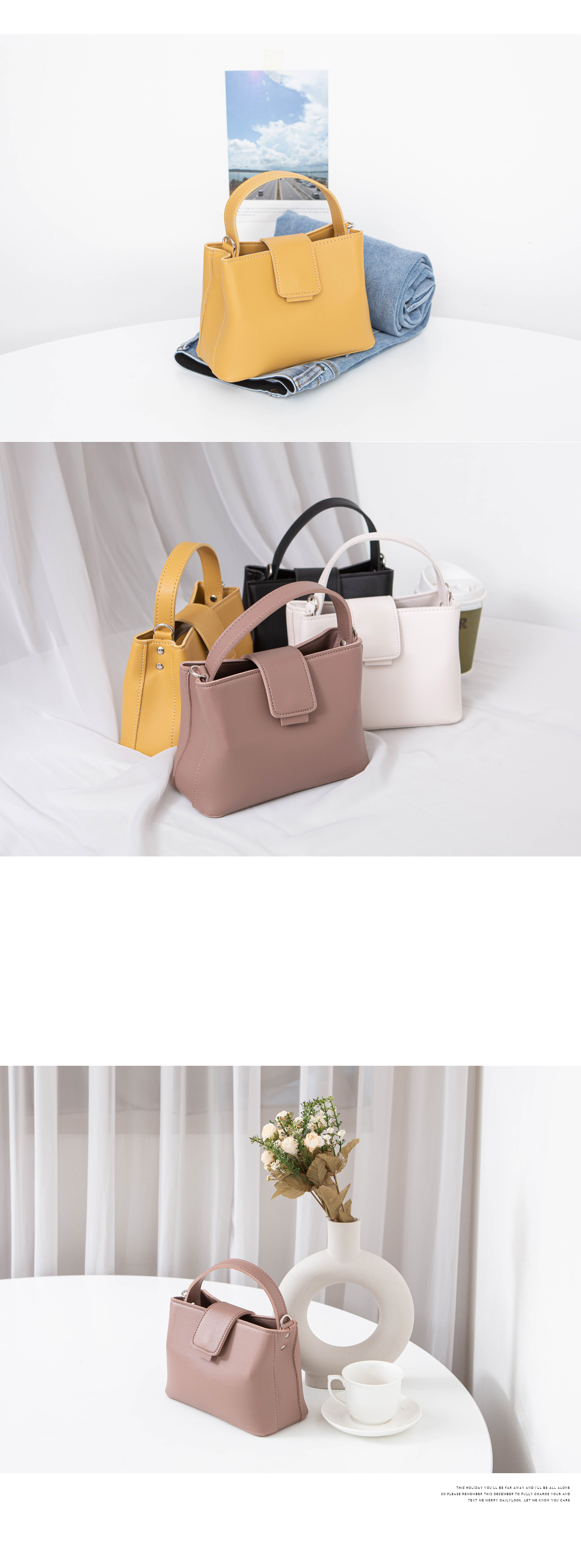 Mini Square Tote Cross Bag #86040