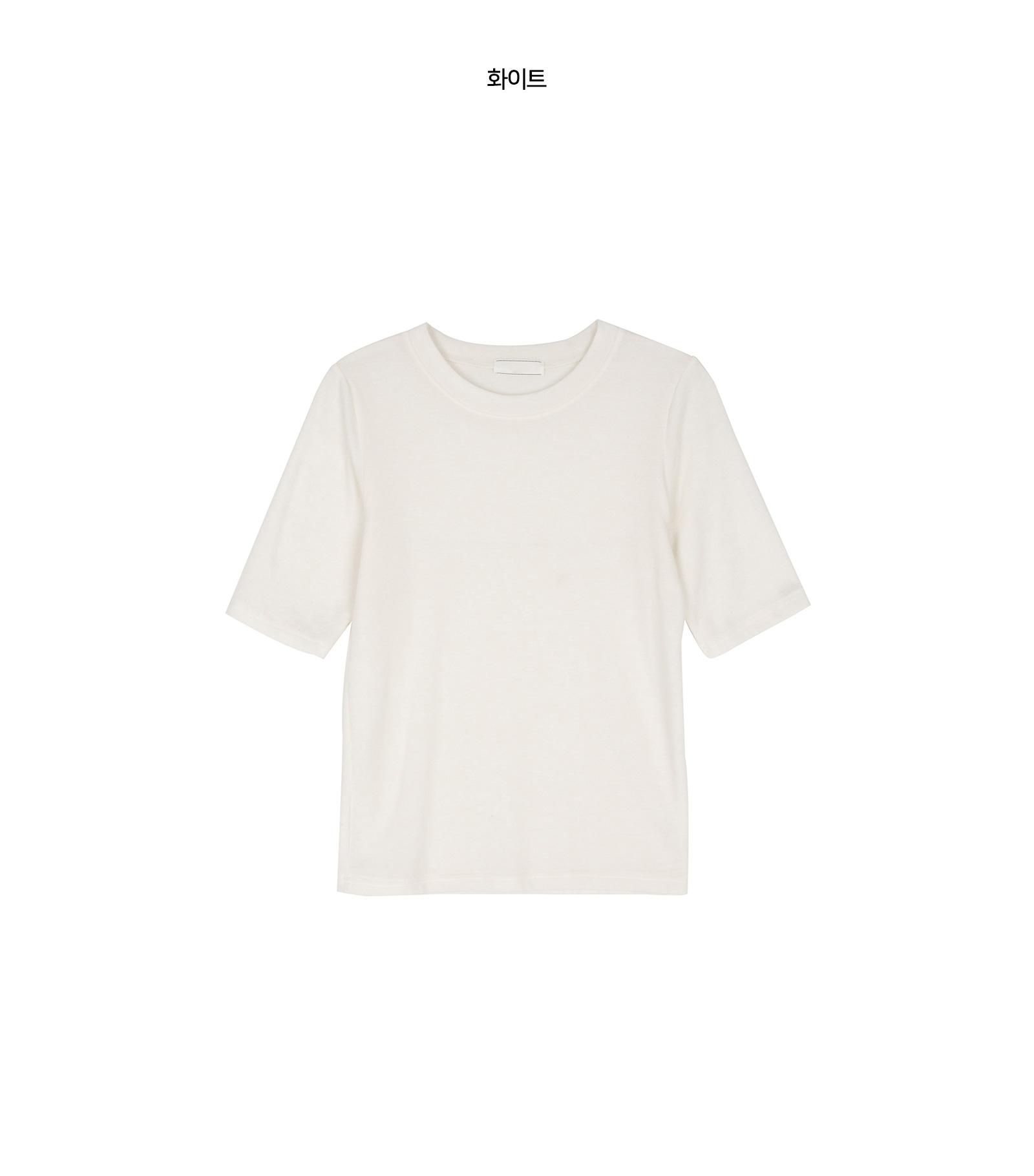 먼데이 울 쇼트 슬리브 티셔츠
