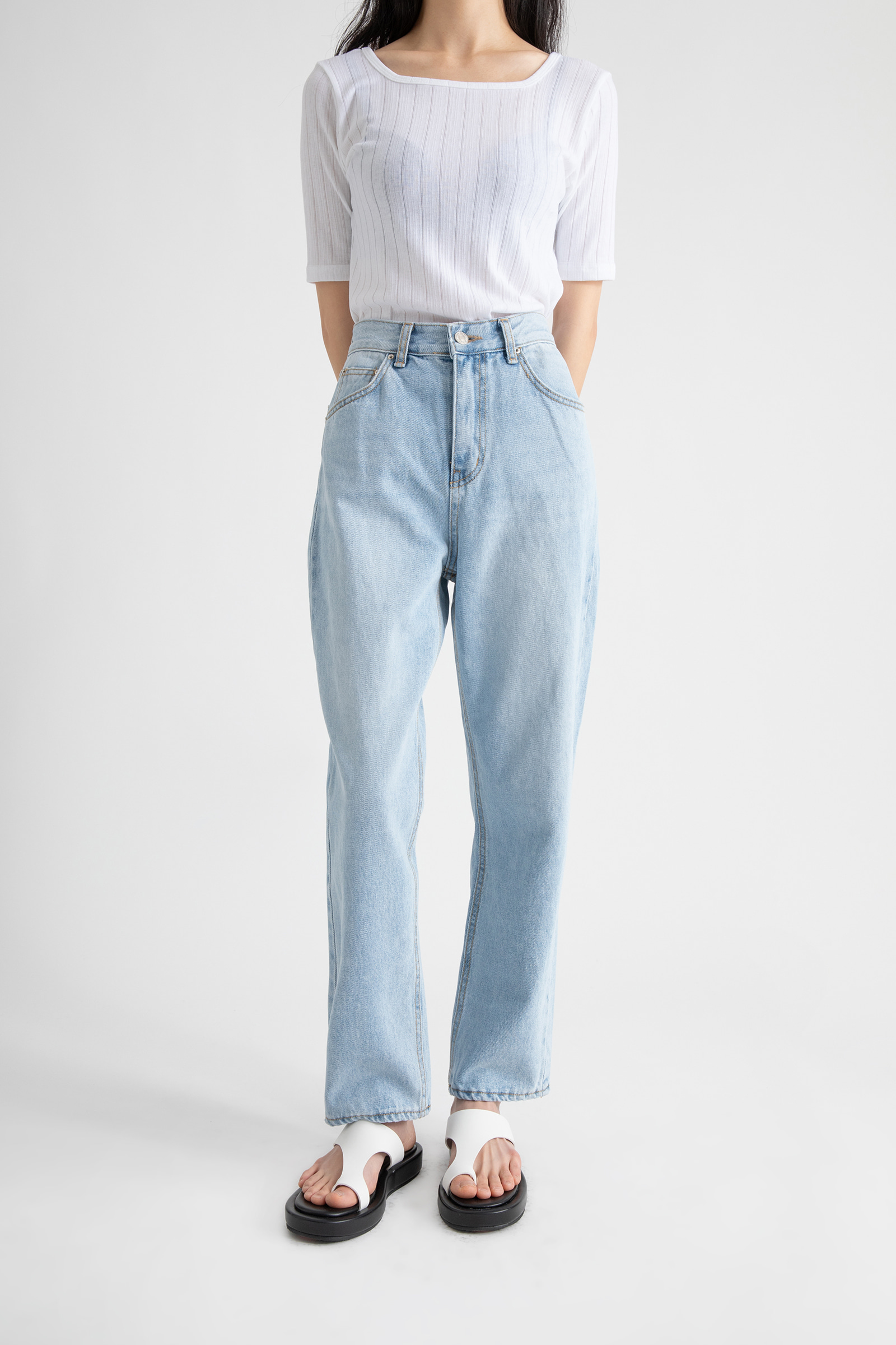 Earth straight jeans