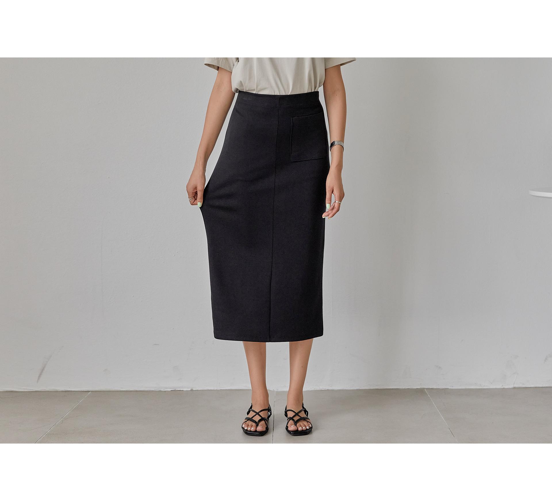 Twisted Banding Pudding Skirt #51258