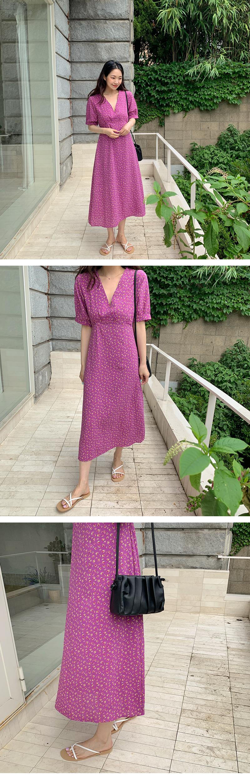 Tiniflower Puffron Dress