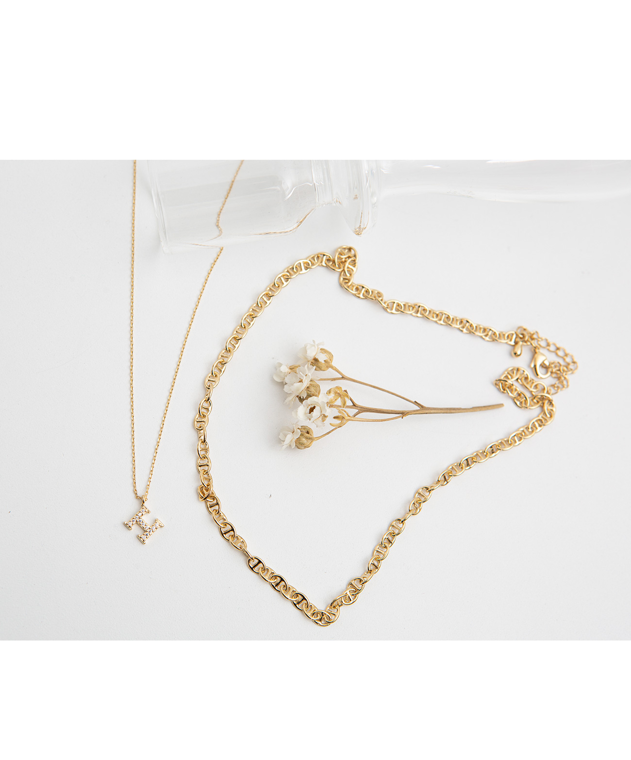 Layered Cubic Necklace #86247
