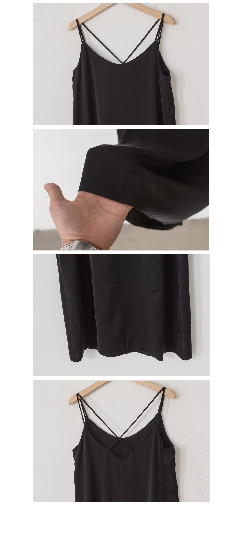 Simple back long dress #37215