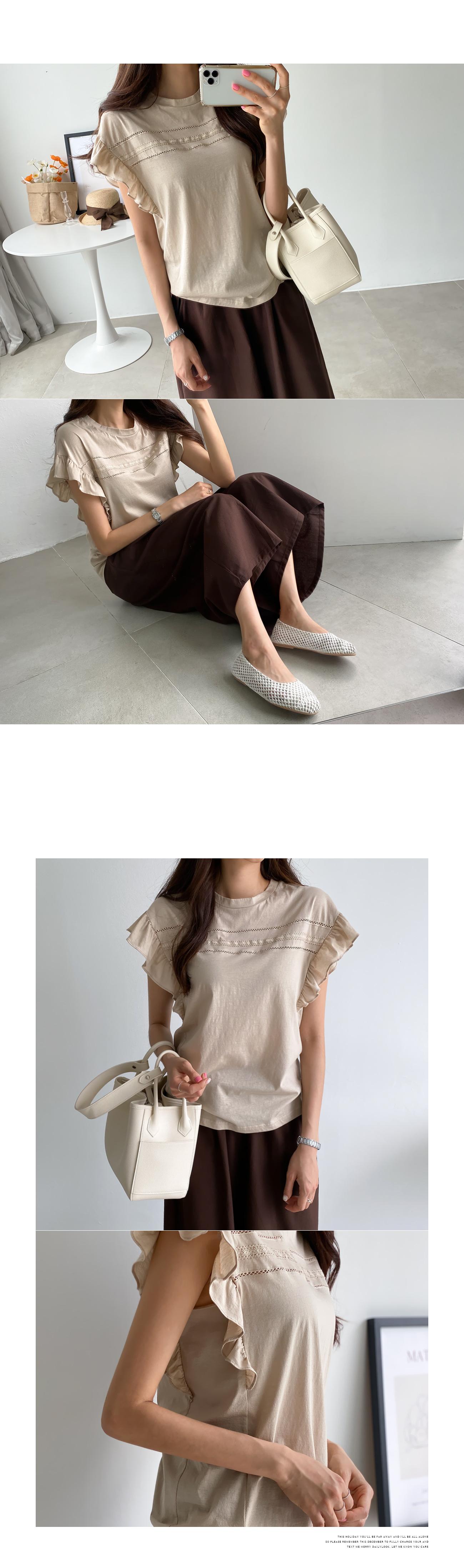 Angel frill t-shirt #108251