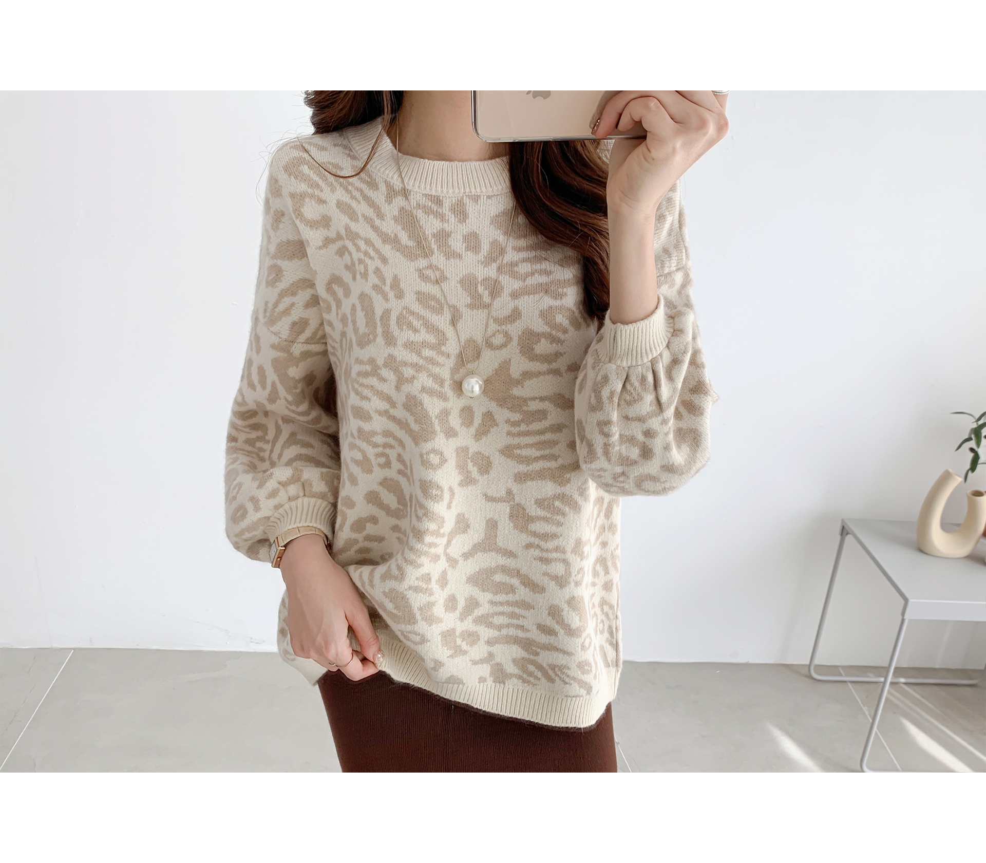 Loose Fit Hopi Round Knit #107600