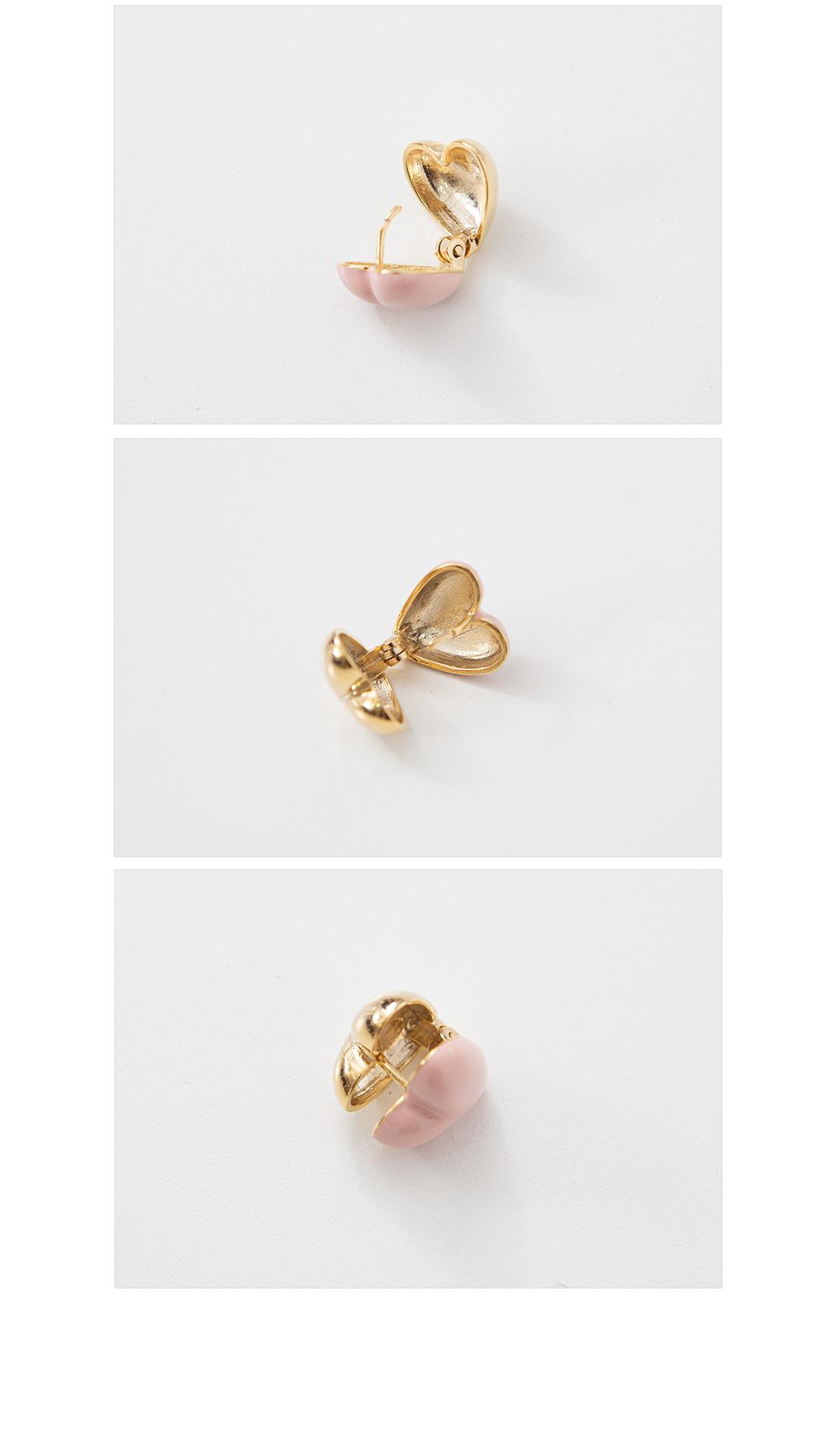 Lovely Heart Earring #86148