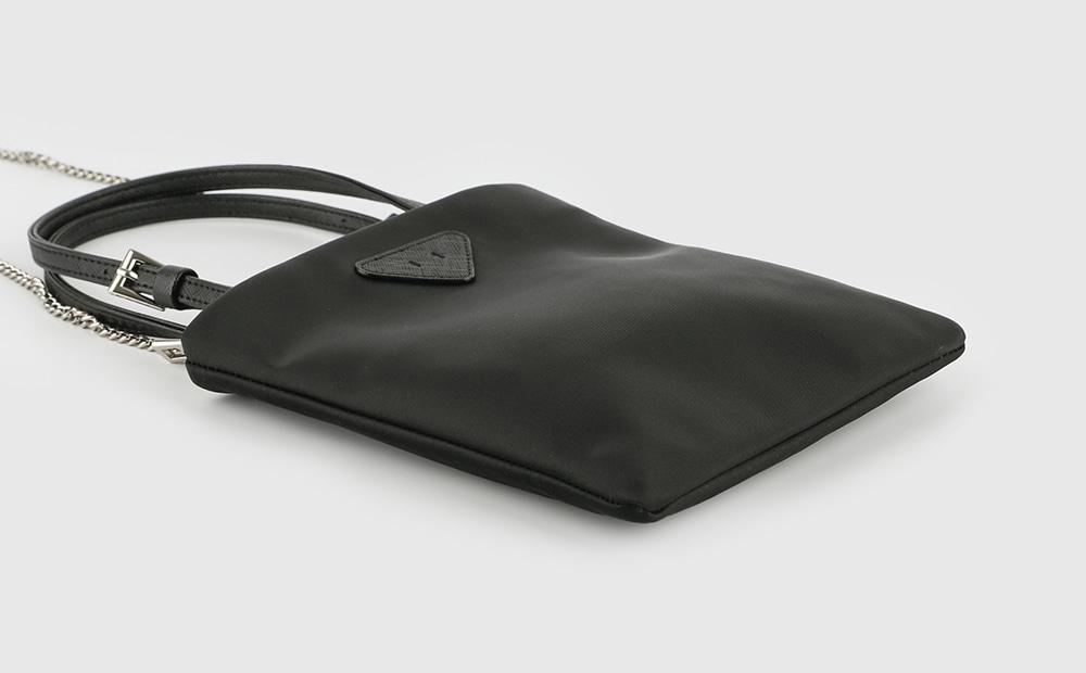 Fabric mini multi cross chain tote bag