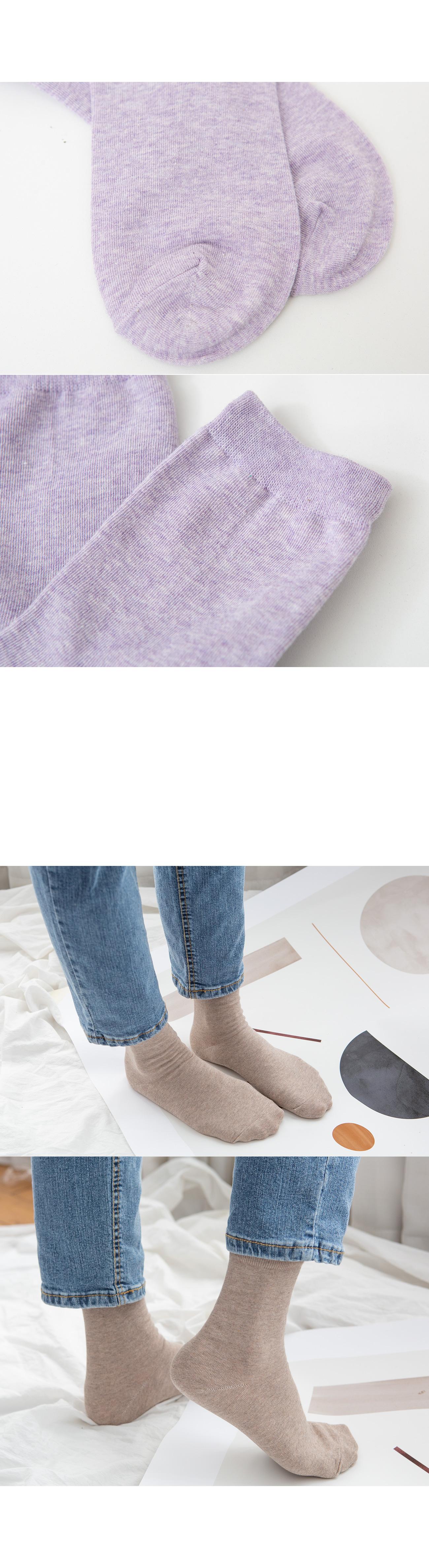 Basic 10 color socks #86096