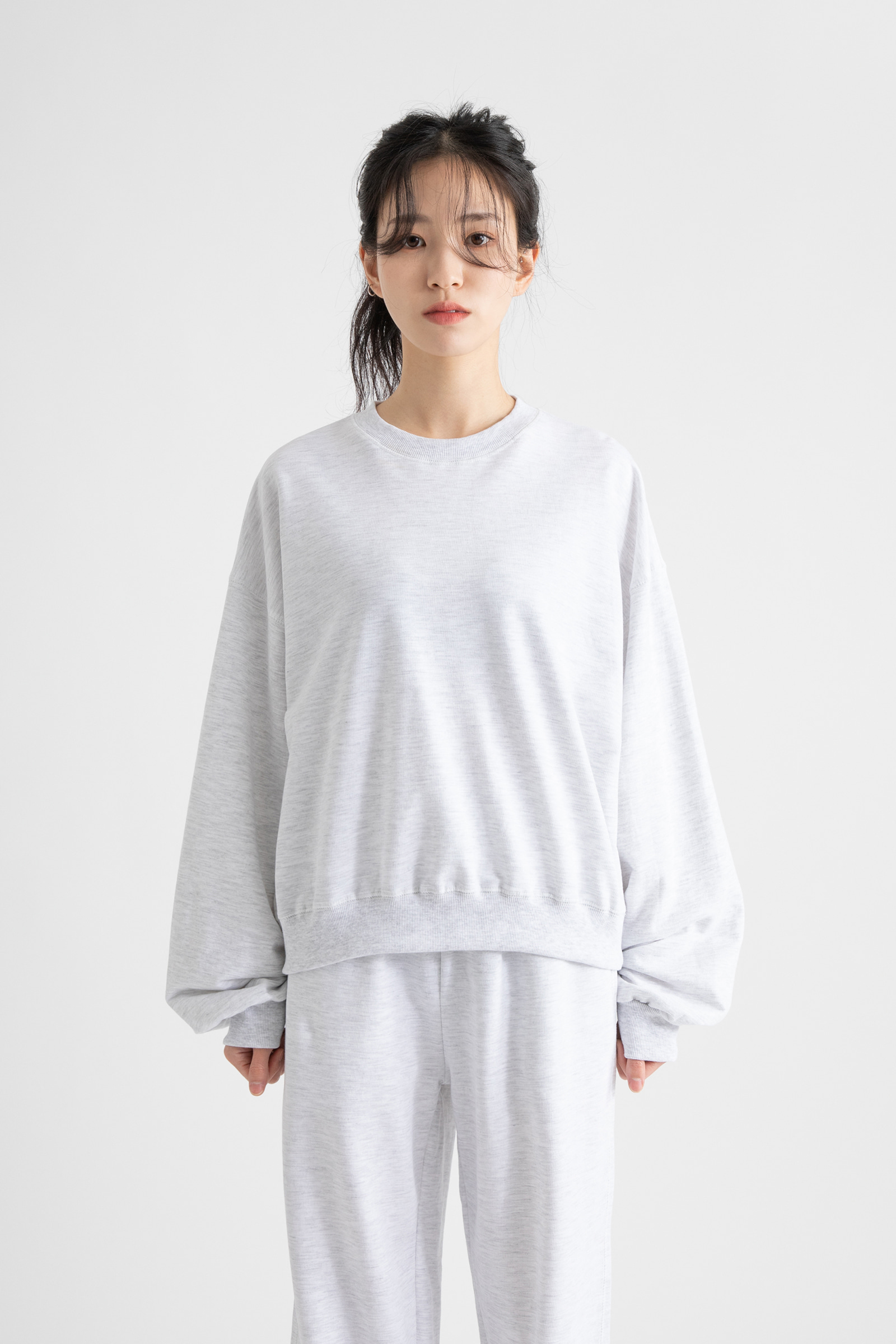 Daily men-to-man sweatshirt