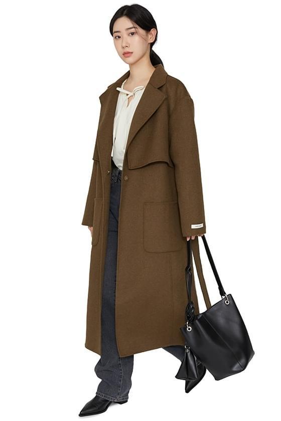 Planning Wool Double Collar Handmade Coat コート