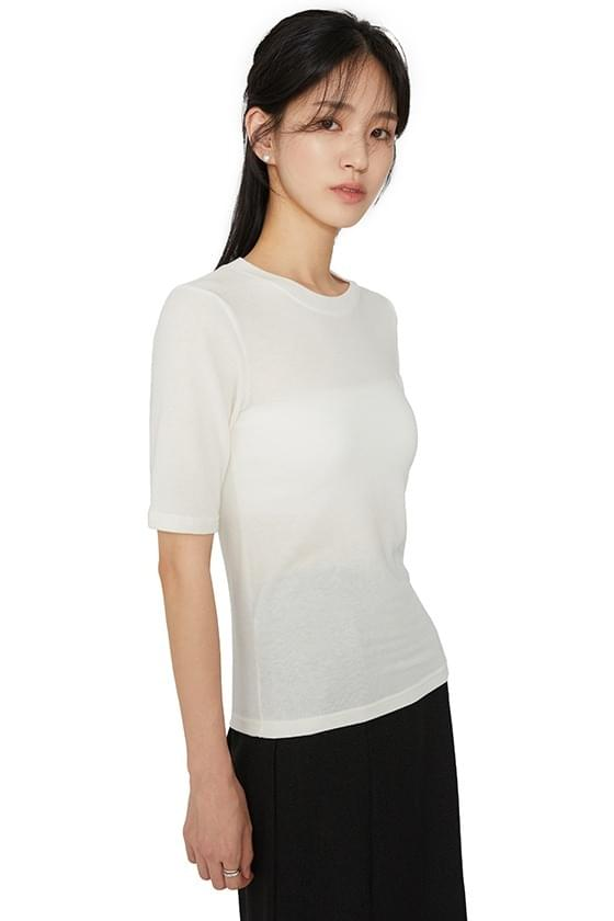 Monday wool short sleeve T-shirt (Delayed delivery)