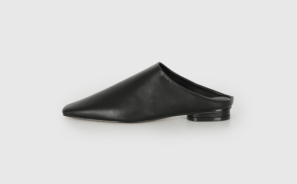 Mercy Real Leather Mule