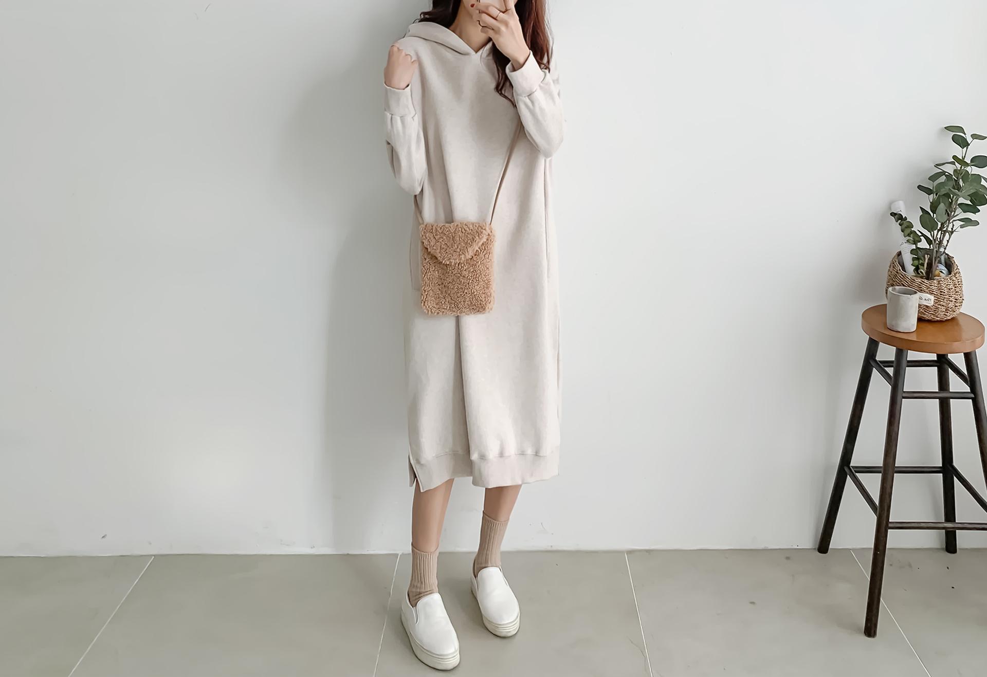 Fix Raised Hood Dress #37379