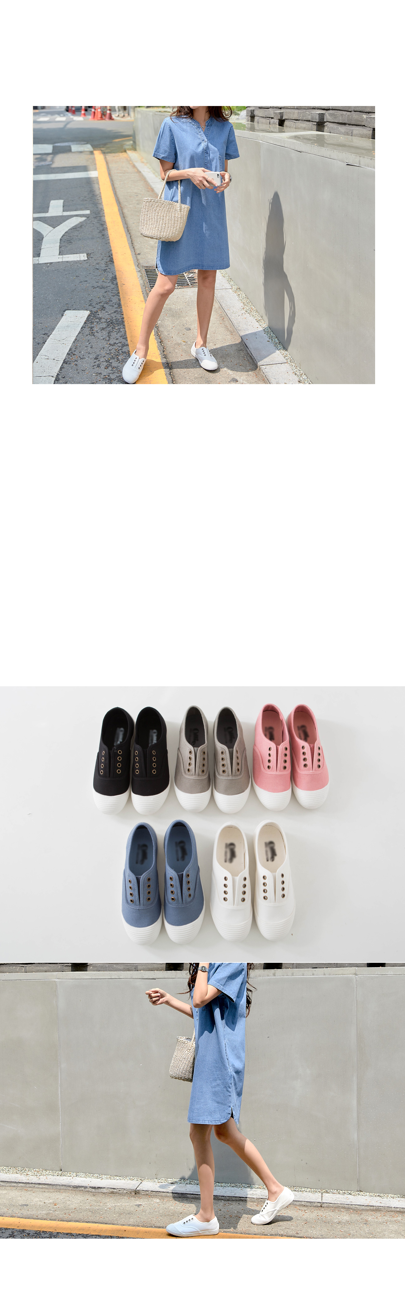 Simple daily shoes #85228