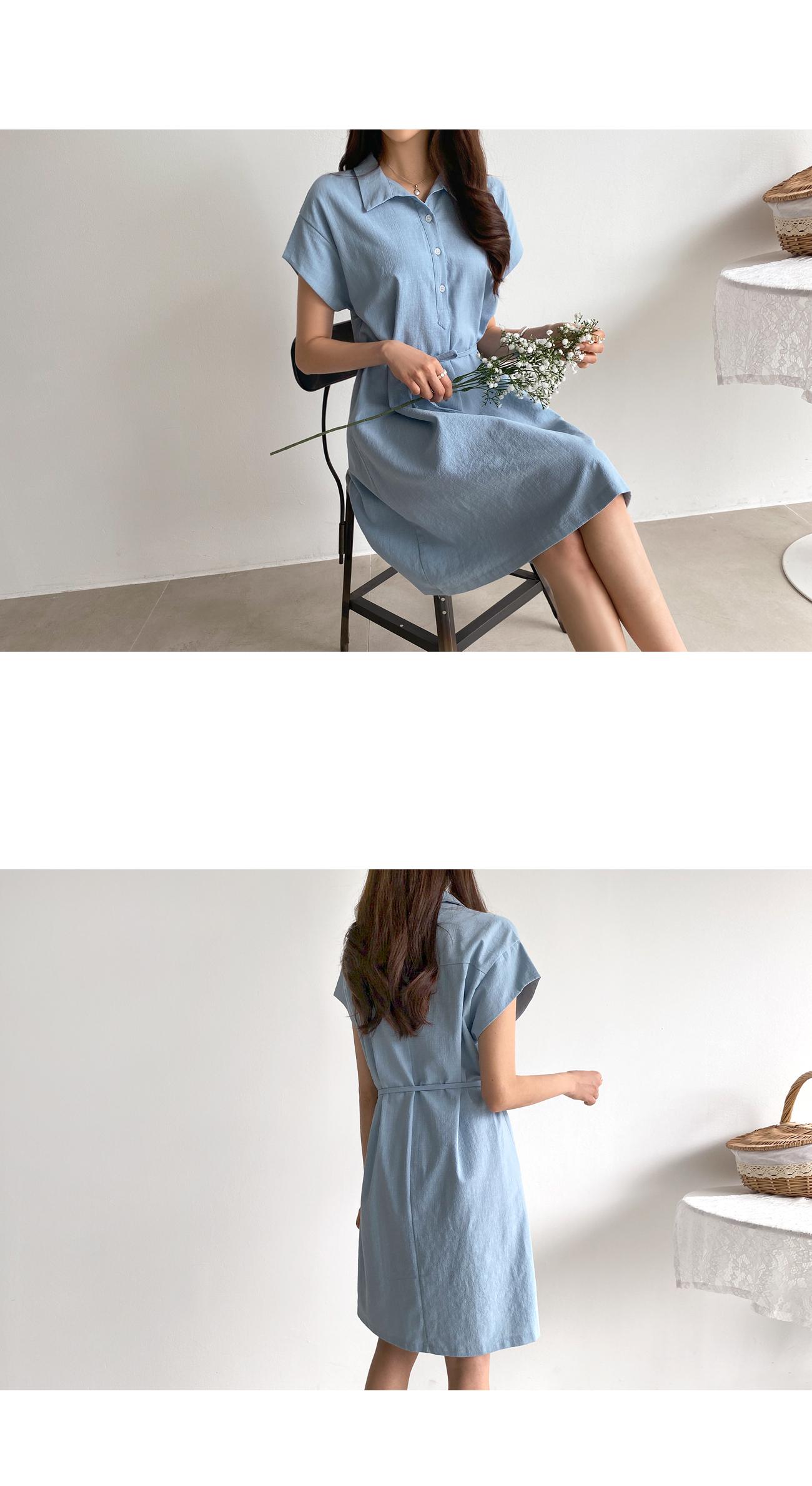 Simple Cara Loose Fit Dress #37523