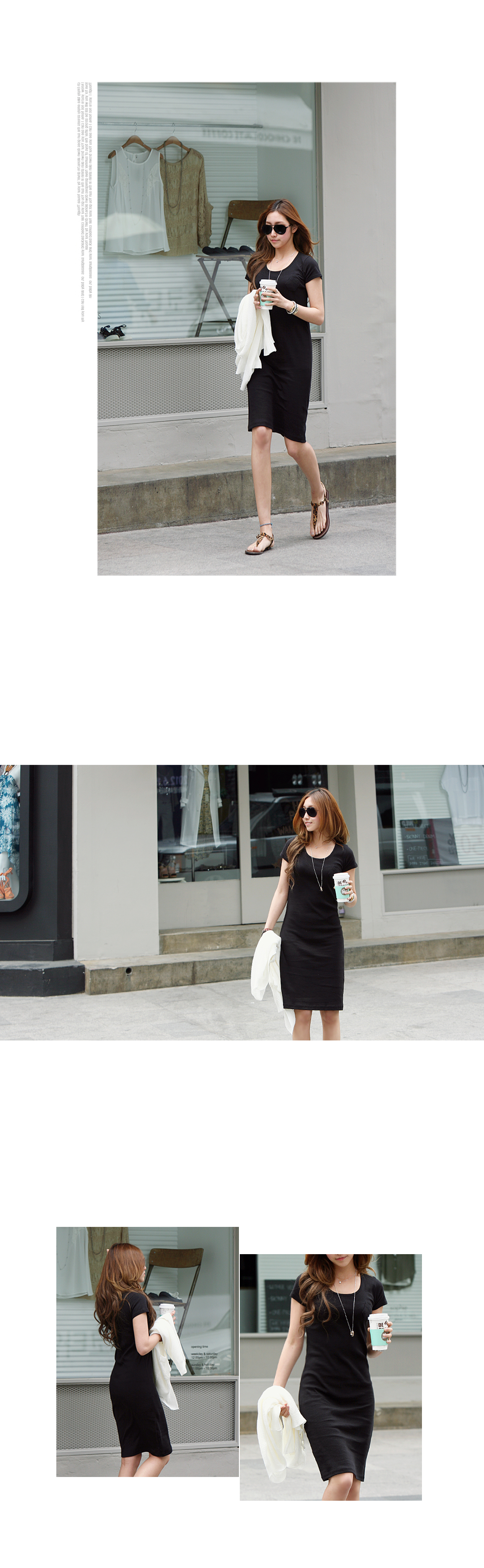 Pannier Pink Slim Fit Dress #31070