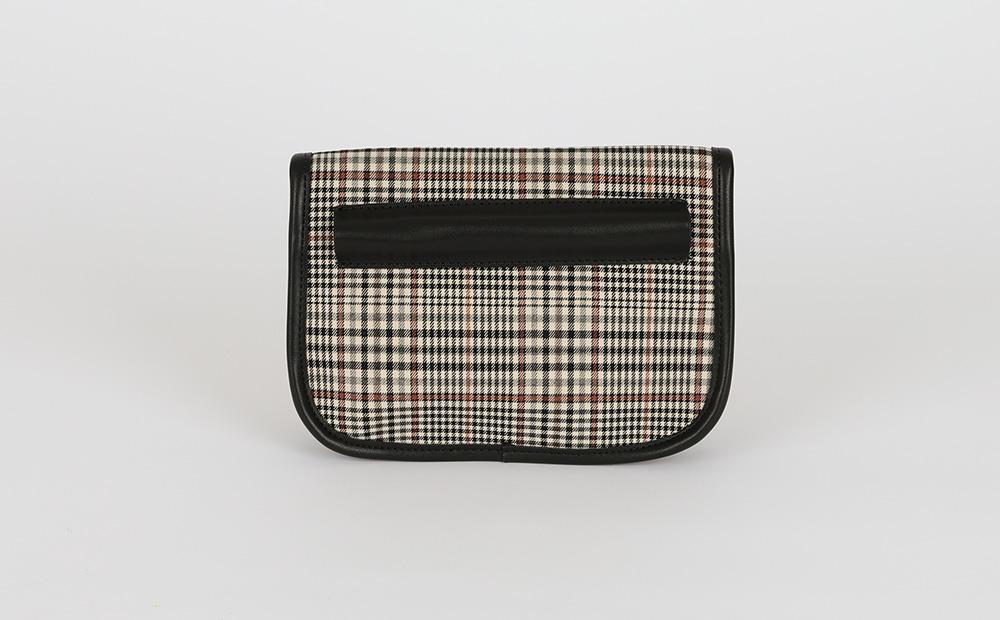 Leslie Check Cross Shoulder Bag