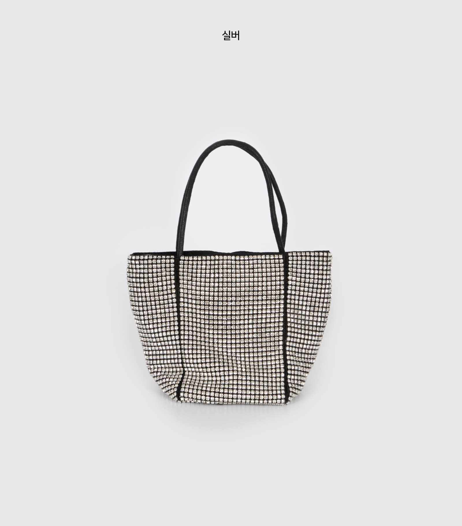 Shape cubic two-way tote bag