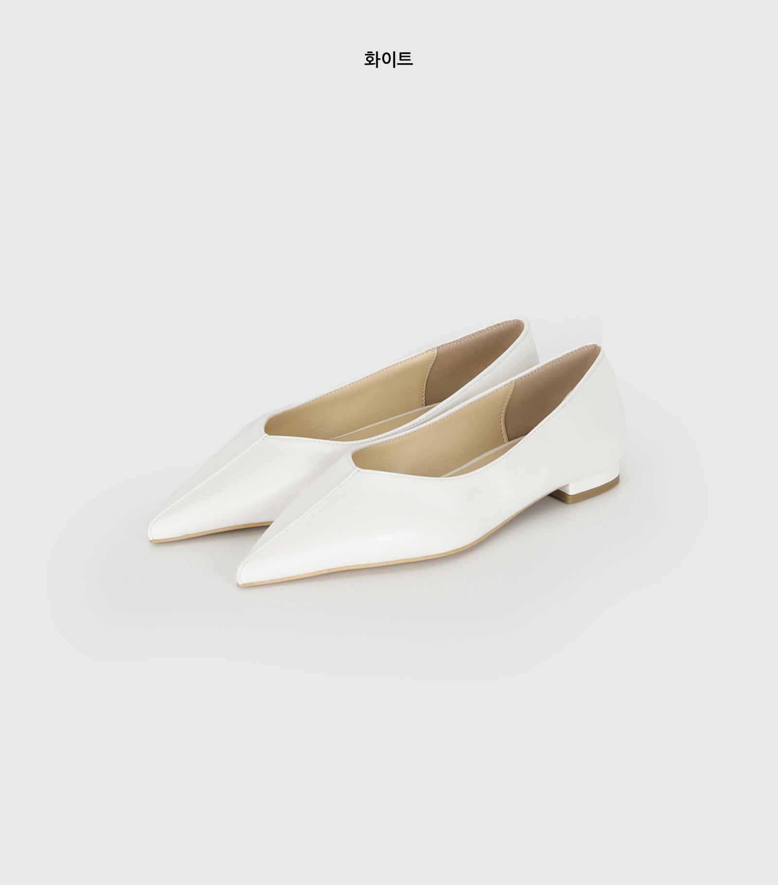 More Point Flat Shoes
