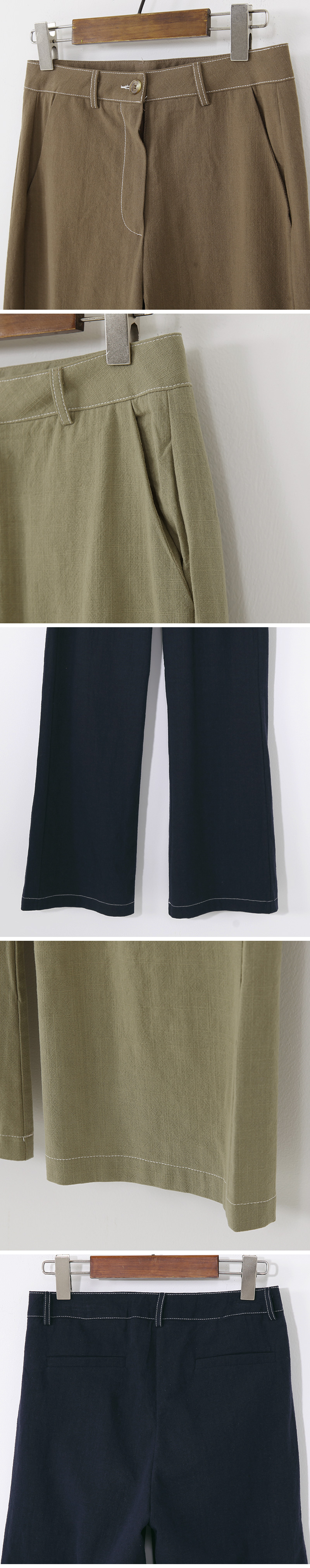 Modern Stitch Date Long Slacks