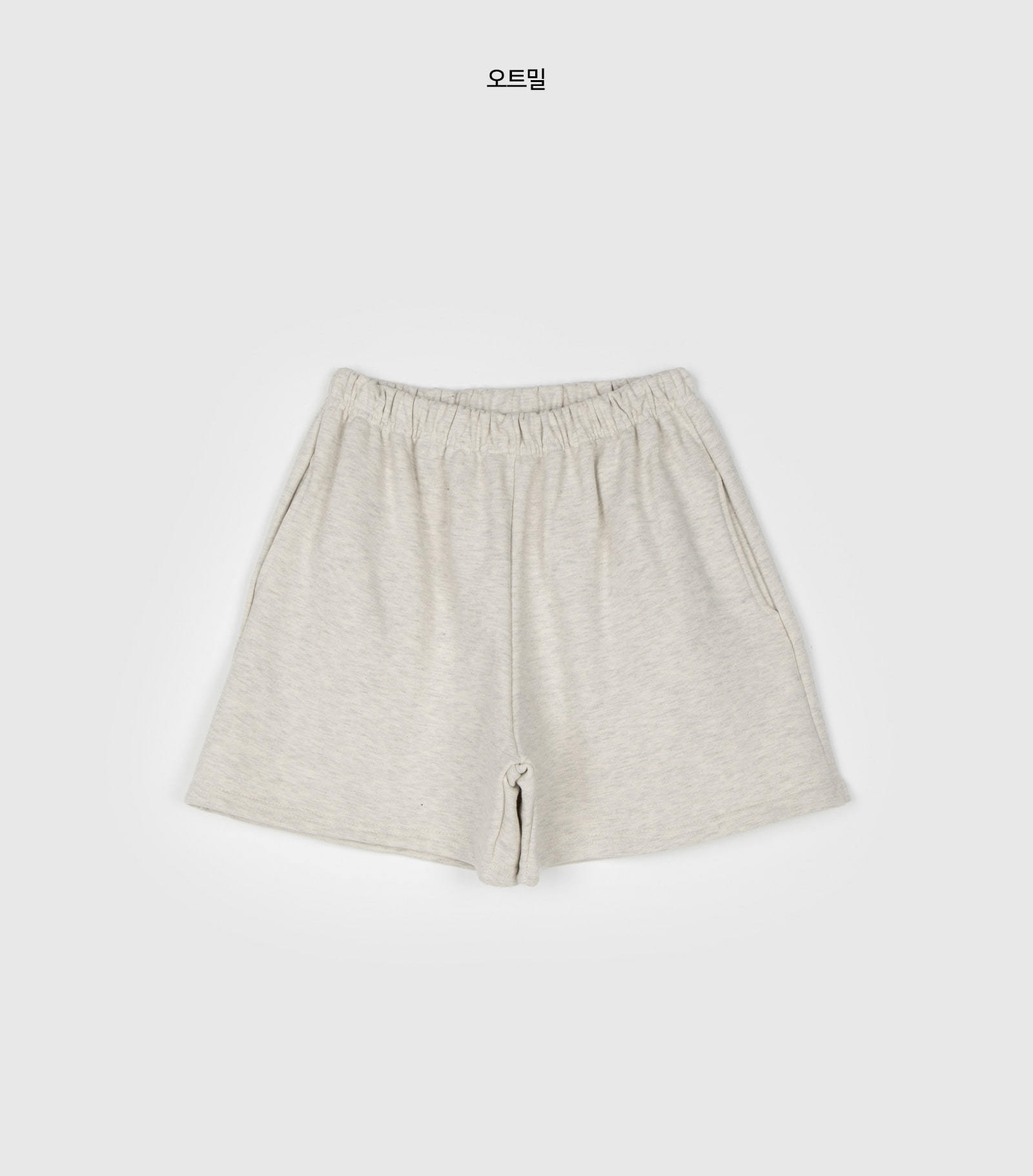 Training banding cotton shorts