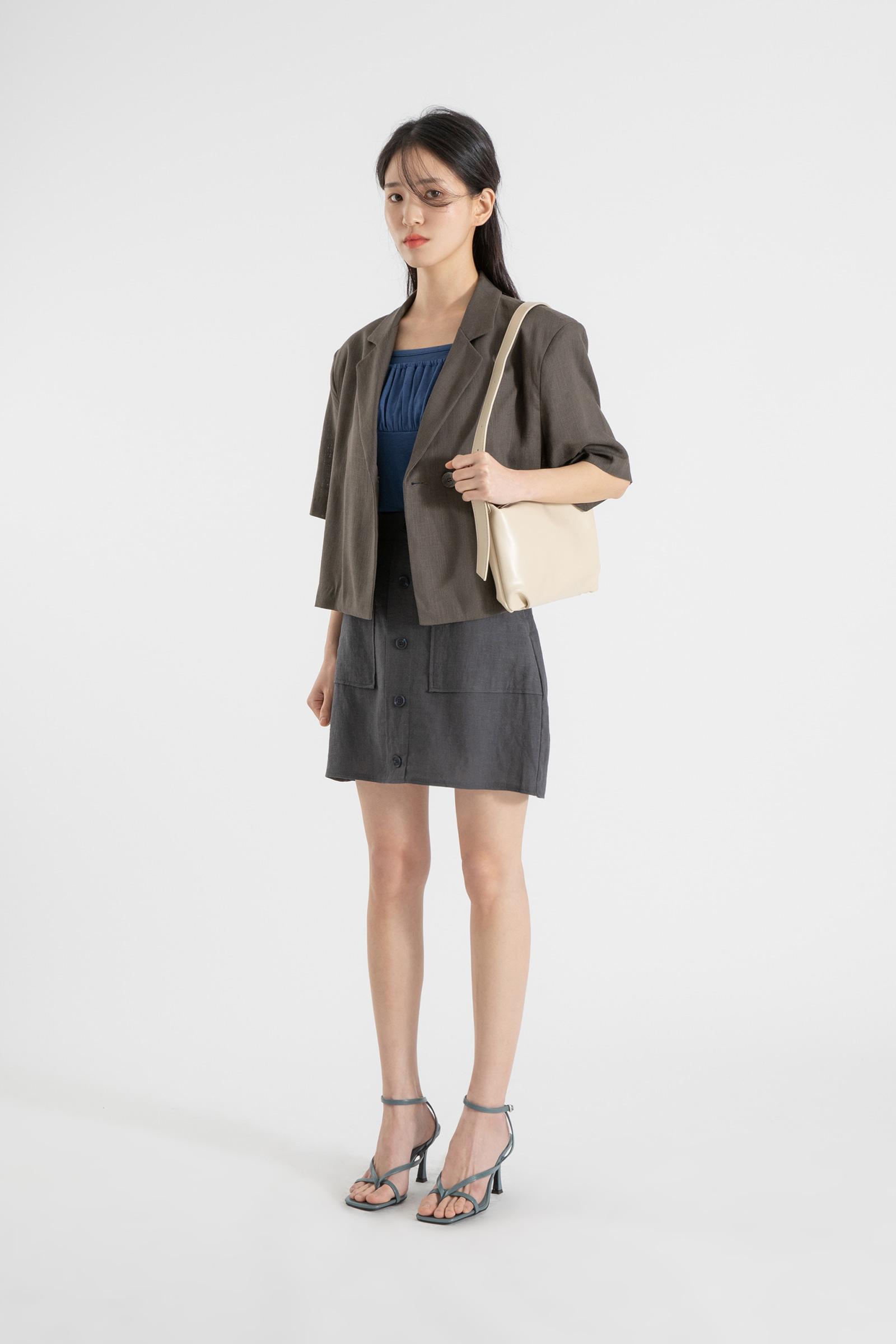 Joan Shine Saddle Shoulder Bag